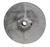 Chicago Die Cast  5 in. Dia. Zinc  Single V Grooved Pulley