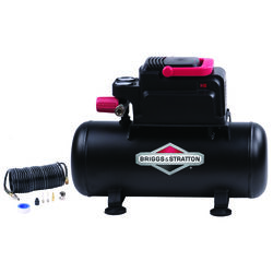 Briggs & Stratton  3 gal. Horizontal  Portable Air Compressor Kit  100 psi 0.3 hp