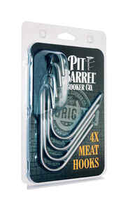 Pit Barrel Cooker  4 Pack  Meat Hook