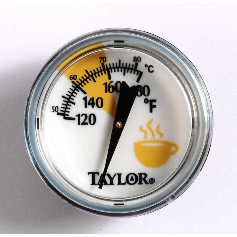 Taylor  Instant Read Analog  Cappuccino Frothing Thermometer
