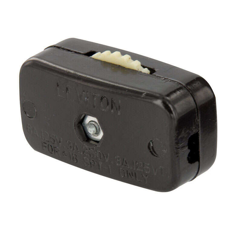 Leviton  Lamp Cord Switch  125 volts