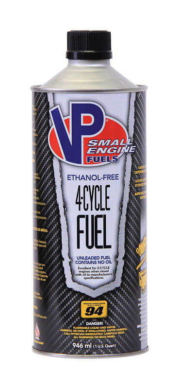 VP Fuels  Gasoline  4-Cycle Fuel  1 qt.