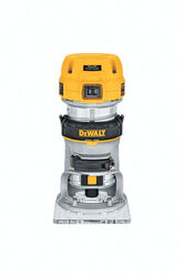 DeWalt  1.25 hp Corded  Compact Router  Bare Tool  4 in. Dia. 7 amps 27000 rpm