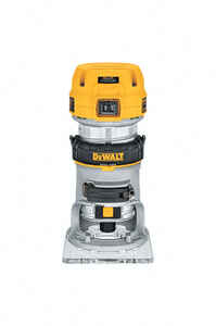 DeWalt  1.25 hp Corded  Compact Router  4-3/16 in. Dia. 7 amps 27000 rpm