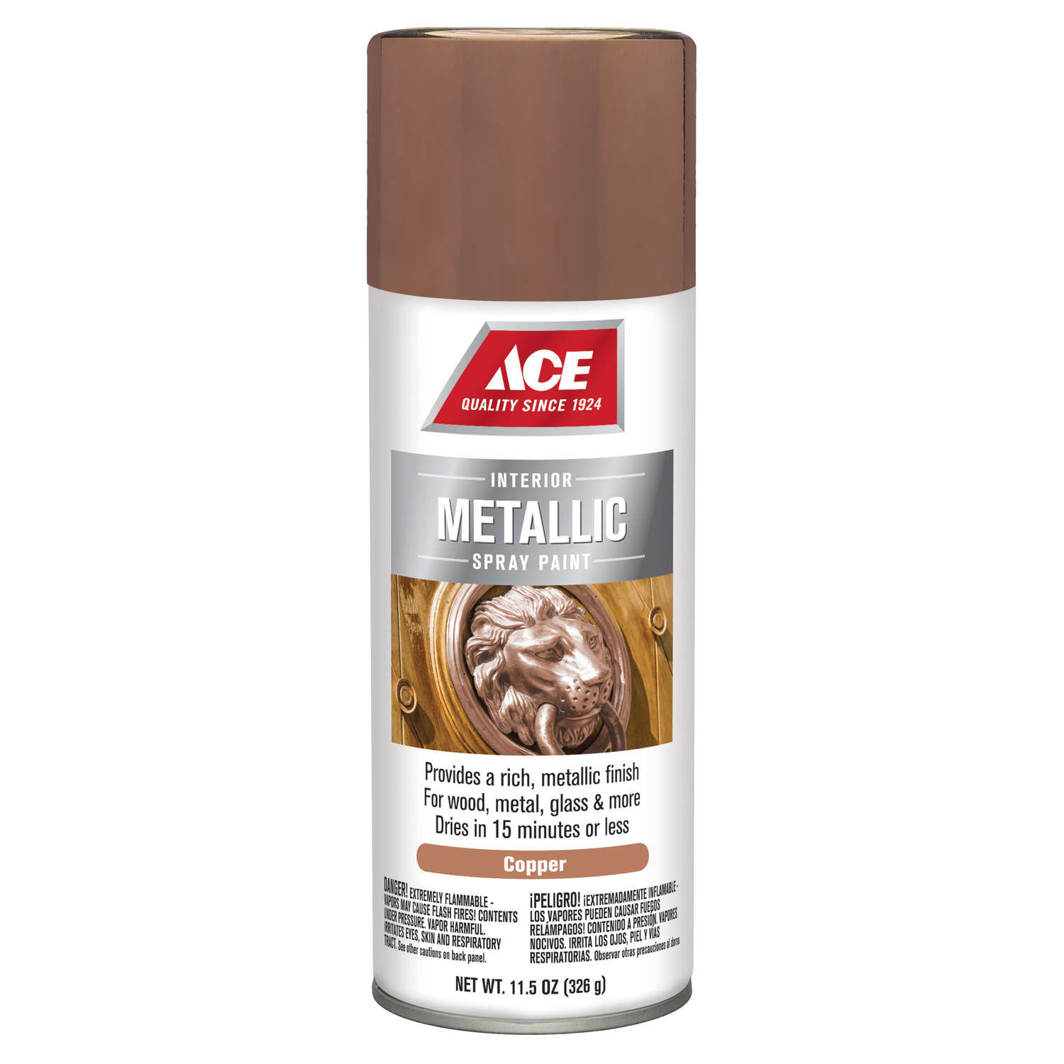 Ace  Brilliant  Copperstone  Spray Paint  11.5 oz.