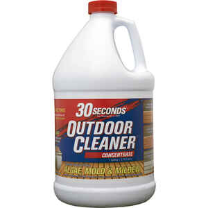 30 SECONDS  Outdoor Cleaner  Outdoor Algae, Mold, Mildew Cleaner  1 gal.