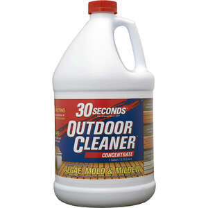 30 SECONDS  Outdoor Cleaner  Outdoor Algae, Mold, Mildew Cleaner  1 Gallon
