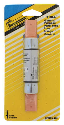 Bussmann 100 amps Non Current Fuse 1 pk