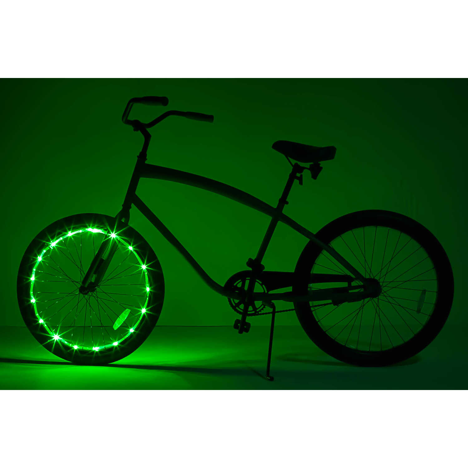 Brightz Ltd.  WheelBrightz  LED Bicycle Light Kit  ABS Plastics/Polyurethane/Electronics  1 pk