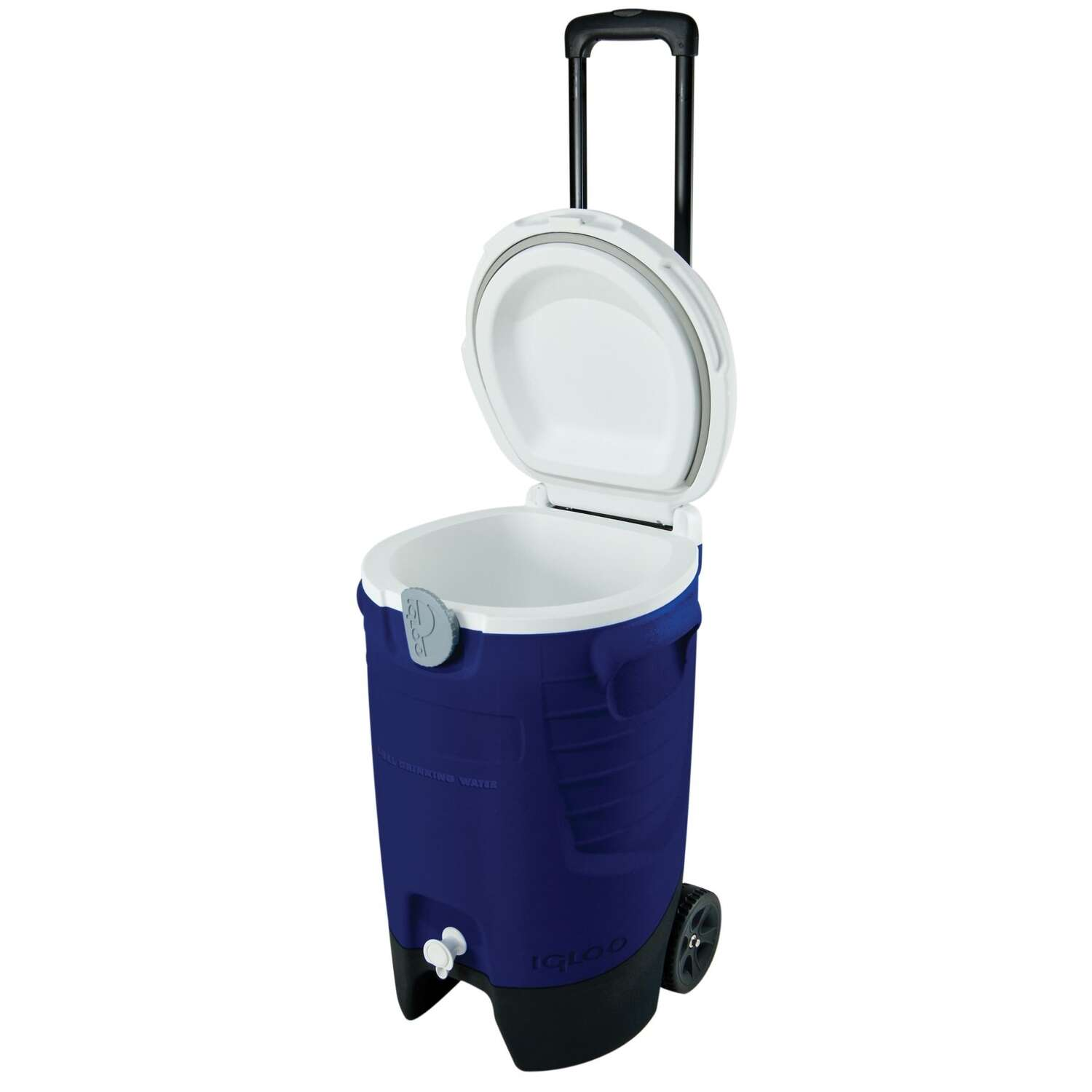 Igloo  Sport Roller  Water Cooler  5 gal. Blue