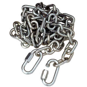 Reese  Towpower  Steel  72 in. Safety Chain