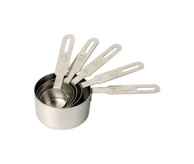 RSVP International  Stainless Steel  Metallic  Measuring Set