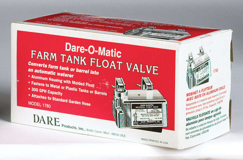 Dare-O-Matic  300 gph Aluminum Housed  Float Valve