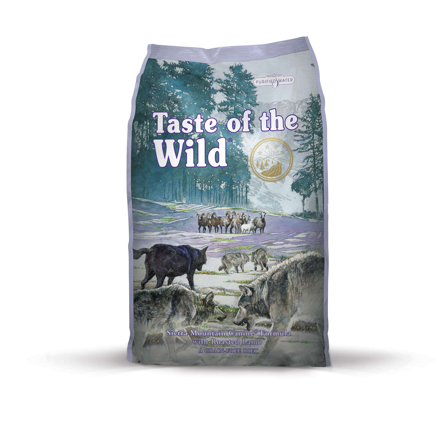 Taste of the Wild  Sierra Mountain  Roasted Lamb  Dry  Dog  Food  Grain Free 28 lb.
