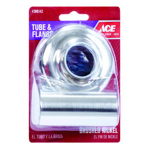 Ace  Brass  Flange and Tube Set  1.25 in.