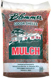 Blommer  Dark Color  Cocoa Shell  Mulch  2 cu. ft.