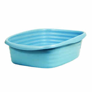 Arm & Hammer  Plastic  Blue  Litter Pan  1 pk