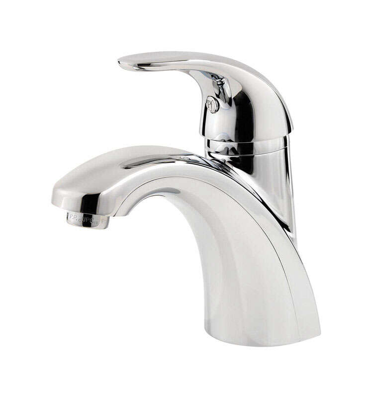 Pfister  Parisa  Polished Chrome  Single Handle  Lavatory Faucet  4 in.