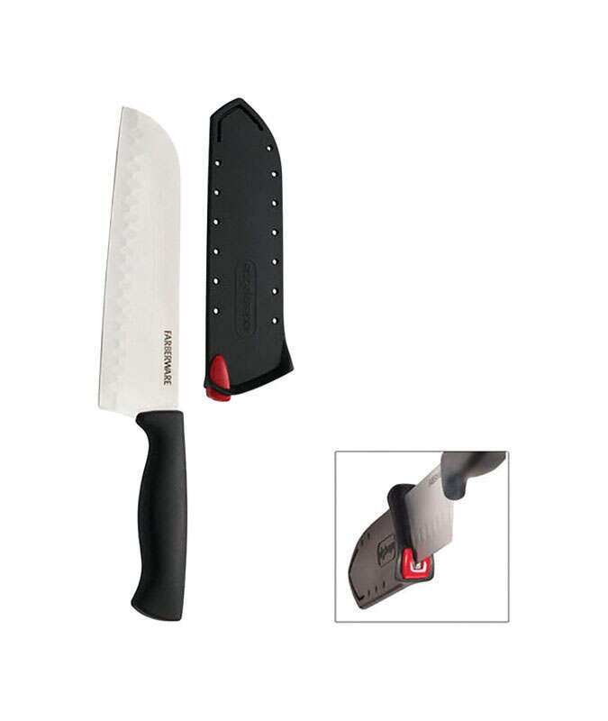 Farberware  Edgekeeper  7 in. L Stainless Steel  Knife  2 pc.