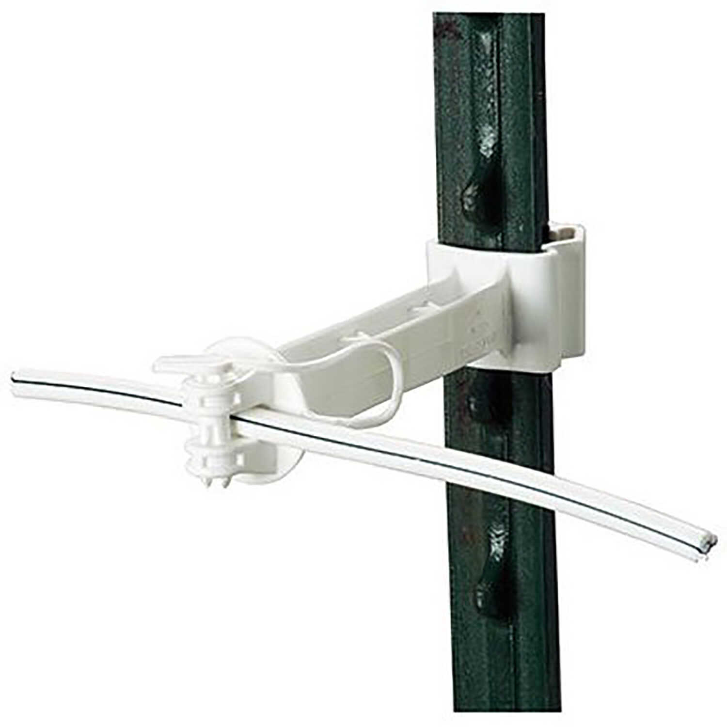 Gallagher  T-Post Offset Insulator  White