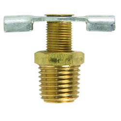JMF  1/4 in. Brass  Needle Drain Cock