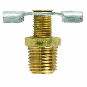 JMF  1/4 in. Dia. Brass  Needle Drain Cock