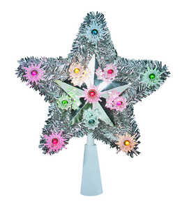 Celebrations  Star  Tree Topper  1 each Tinsel  Assorted