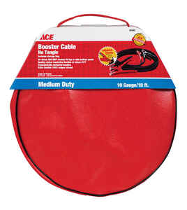 Ace  10 ft. 10 Ga. Cable Booster and Bag  225 amps