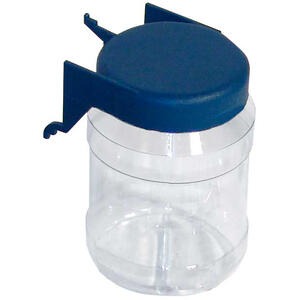Crawford  Blue  Plastic  Multi-Bin Parts Organizer  1 pk