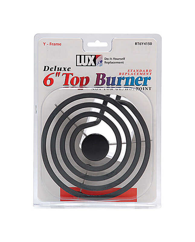 Lux  Chrome  Top Burner