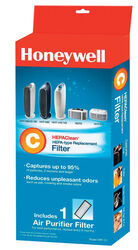 Honeywell  HEPAClean  4.9 in. H x 1.6 in. W Round  Air Purifier Filter