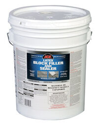 Ace  White  Latex  Block Filler and Sealer  5 gal.
