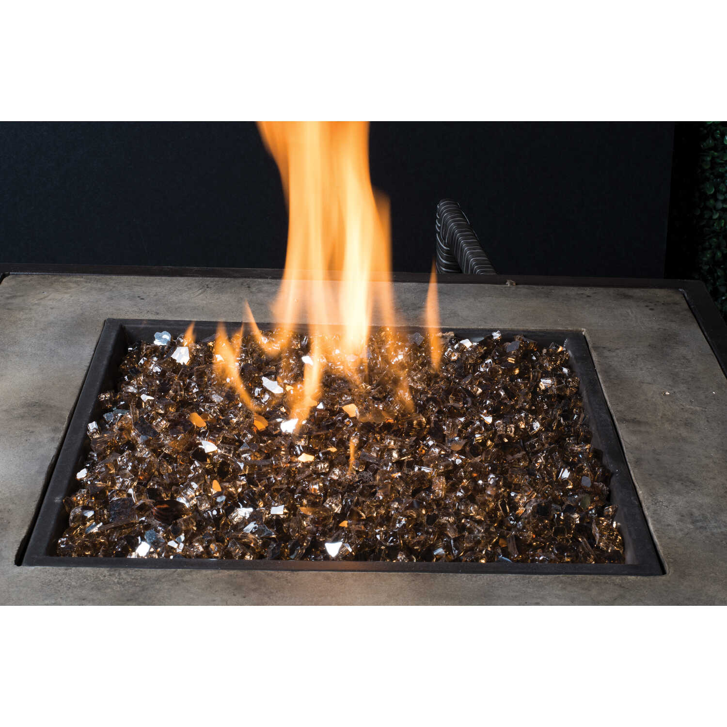 Bond  LavaGlass  Classic Cut  Glass  Fire Bowl Filler