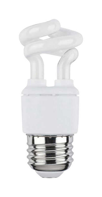 Westinghouse  Mini-twist  5 watts T2  3.5 in. Warm White  CFL Bulb  Tubular  270 lumens 1 pk