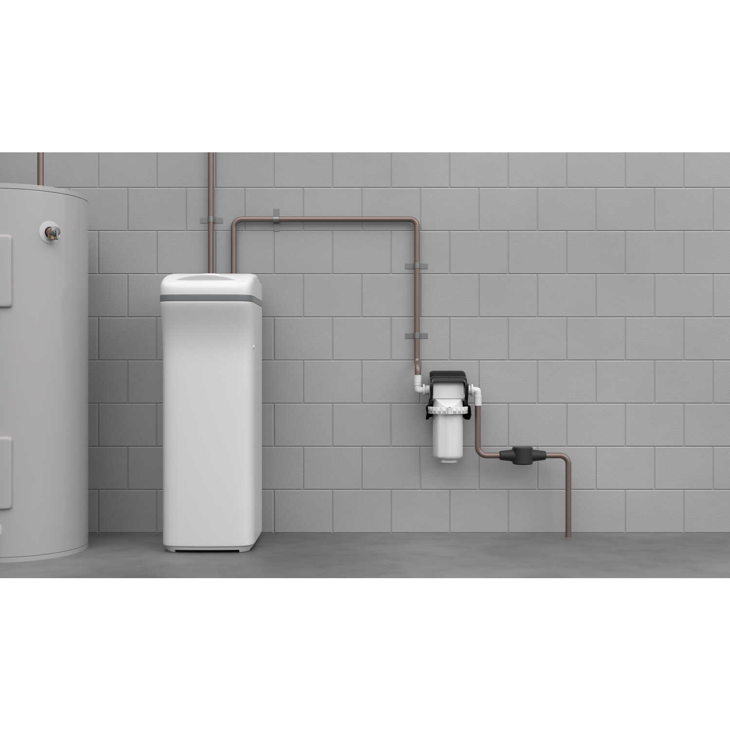 EcoPure  Salt-Free Water Filtration System  For Whole House
