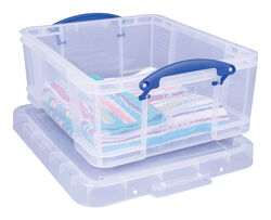Really Useful Box  7 in. H x 15-5/16 in. W x 18-7/8 in. D Stackable Storage Box