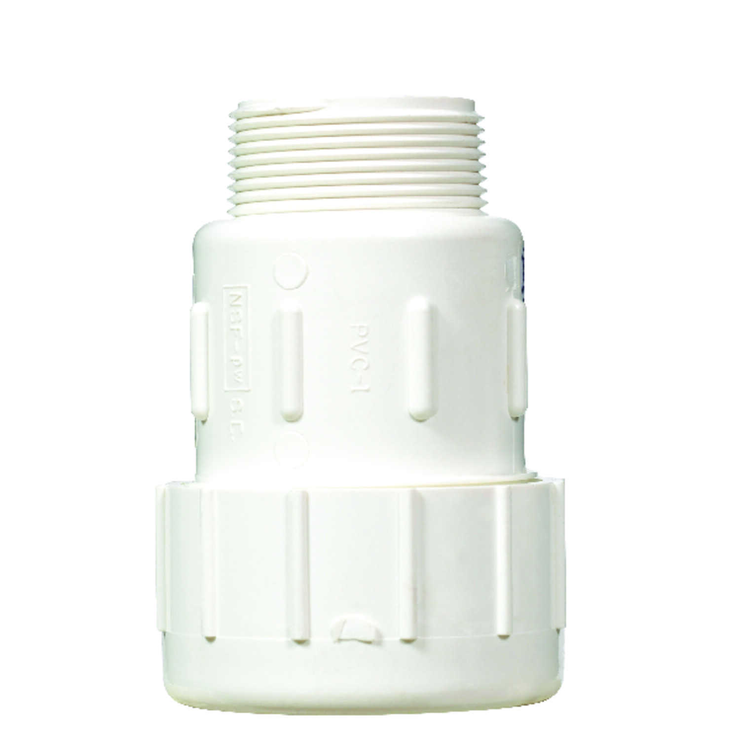 NDS  1-1/2 in. Compression   x 1-1/2 in. Dia. MPT  Male Adapter