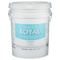 Royal Flat (Non-Glare) White Paint Interior 5 gal.