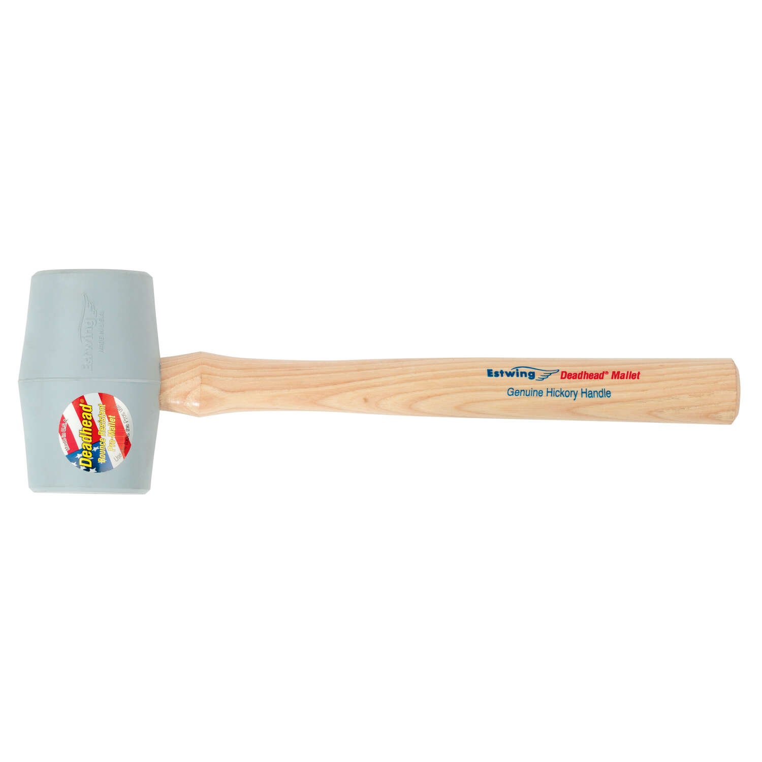 Estwing  Deadhead  18 oz. Mallet  Rubber Head 15 in. L