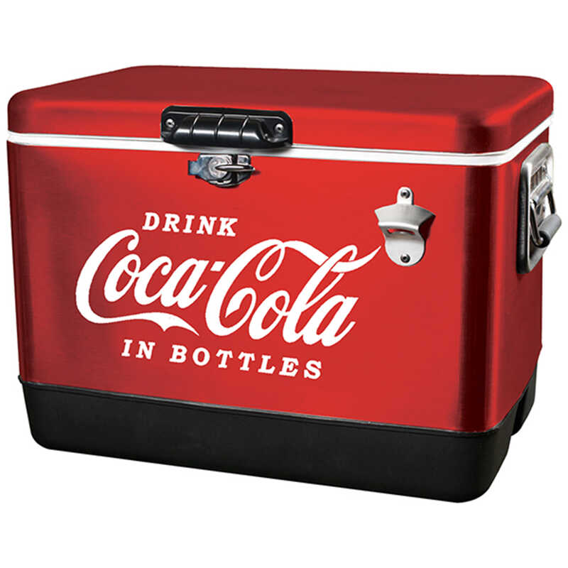 Koolatron  Coca-Cola  Cooler  54 qt. Red