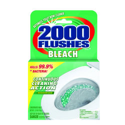 2000 Flushes Fresh Scent Automatic Toilet Bowl Cleaner 1.25 oz. Tablet
