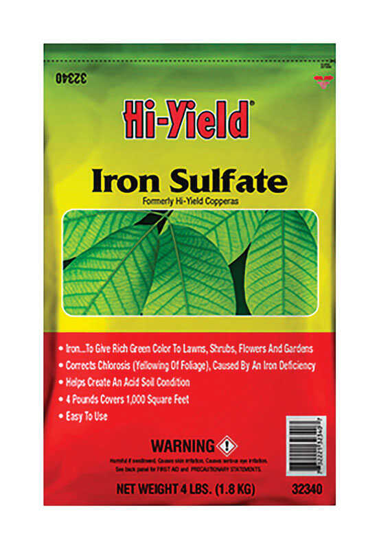 Hi-Yield  Iron Sulfate  1000 sq. ft. 4 lb