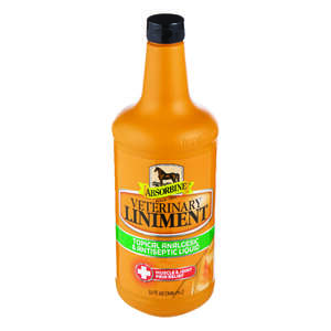 Absorbine  Liquid  Veterinary Liniment  For Horse 1 qt.