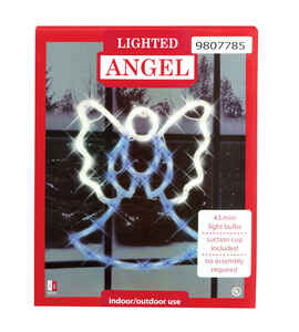 Impact Innovations  Angel  Silhouette  Assorted  Acrylic  1 each