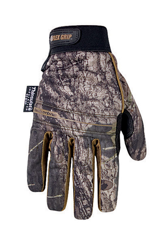 CLC Work Gear  Universal  Synthetic Leather  Winter  Work Gloves  Extra Large  Mossy Oak
