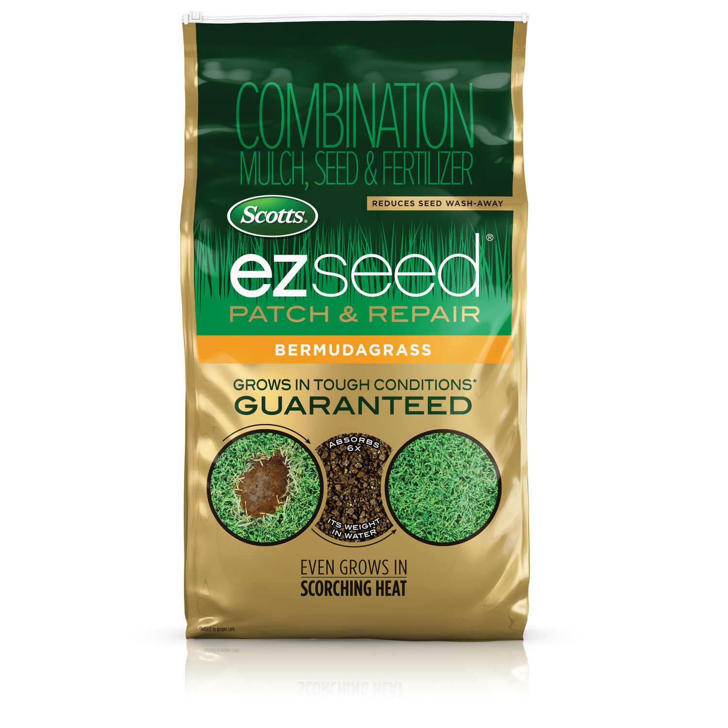 Scotts  Ez Seed  Bermuda  Seed, Mulch & Fertilizer  10 lb.