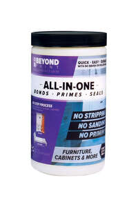 BEYOND PAINT  All-In-One  Matte  Water-Based  Acrylic  Paint  1 qt. Mocha