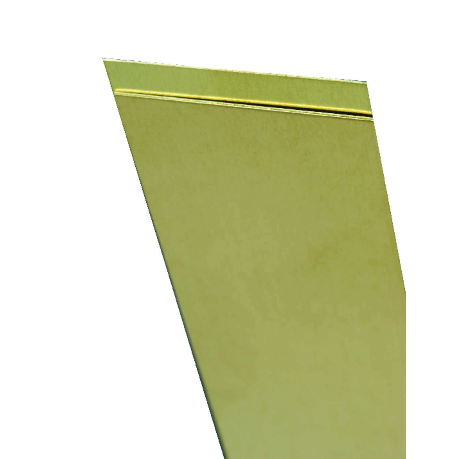 K&S  0.064 in.  x 1 in. W x 12 in. L Brass  Metal Strip