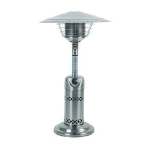 Living Accents  Tabletop  Propane  Stainless Steel  Patio Heater