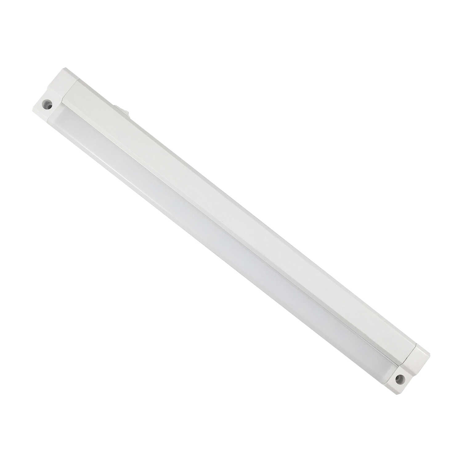Amertac  15 in. L White  Plug-In  LED  Strip Light  420 lumens